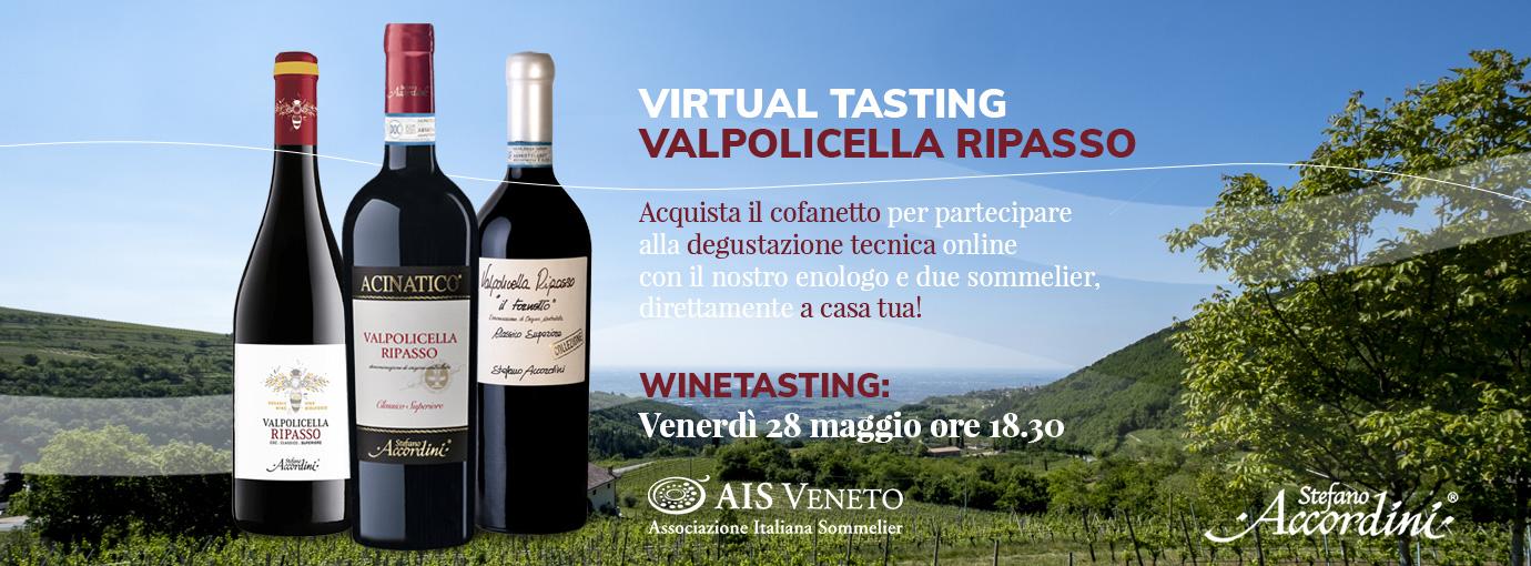 banner virtual tasting